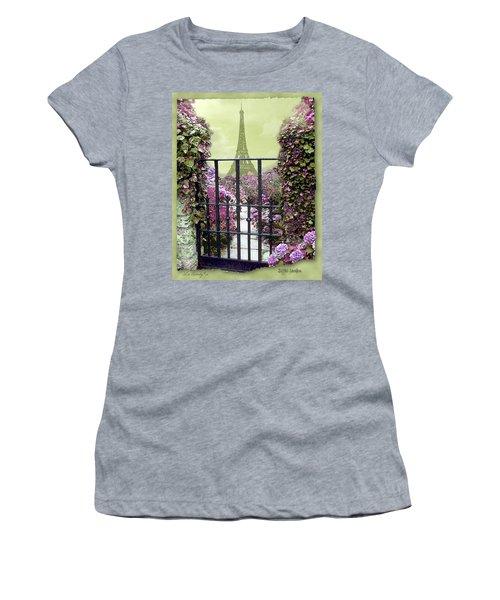 Eiffel Garden Women's T-Shirt