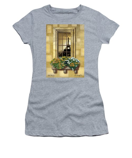 Eiffel Reflection Women's T-Shirt