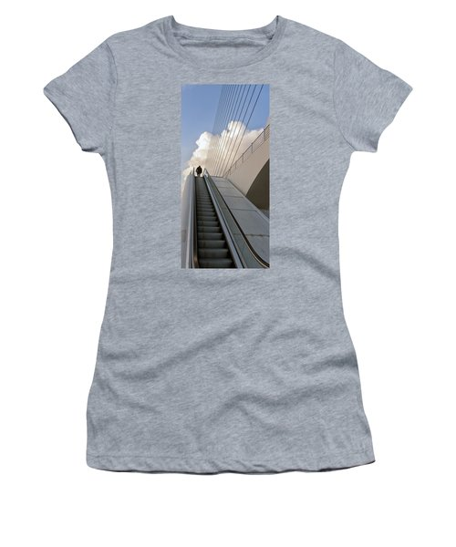 Elevator Women's T-Shirt (Athletic Fit)