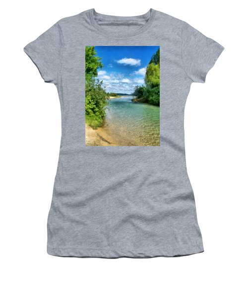 Elk River- Elk Rapids Michigan Women's T-Shirt