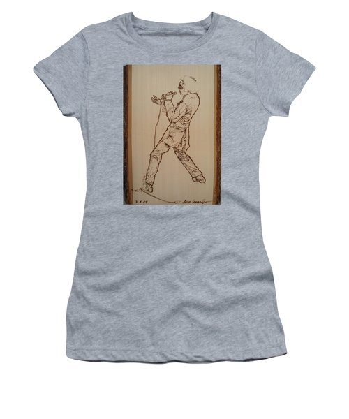 Elvis Presley - If I Can Dream Women's T-Shirt (Junior Cut) by Sean Connolly