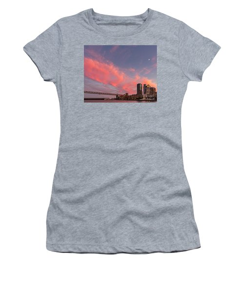 Women's T-Shirt featuring the photograph Embarcadero Sunset by Kate Brown