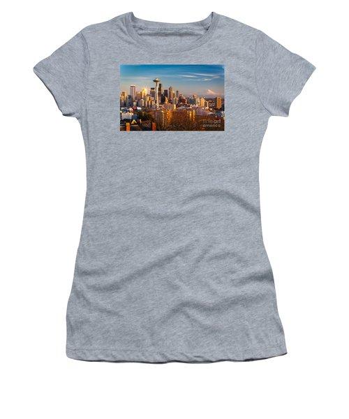 Emerald City Sunset Women's T-Shirt