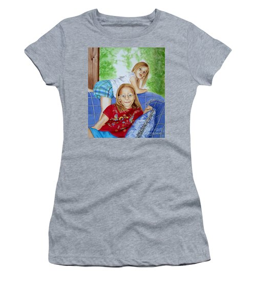 Emi And Mackenzie Women's T-Shirt (Athletic Fit)