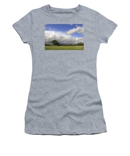 English Oak Under Stormy Skies Women's T-Shirt