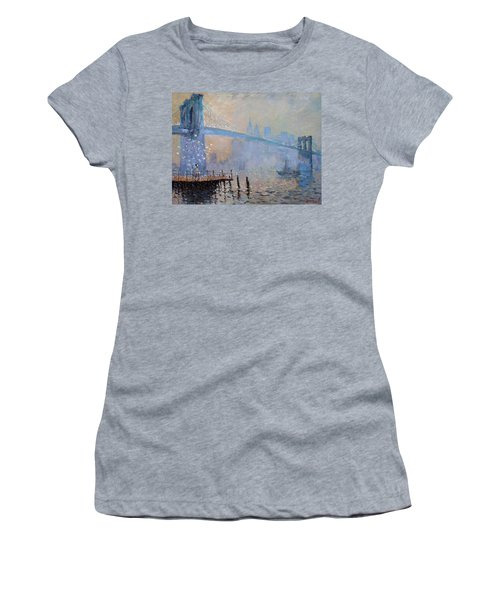 Erbora And The Seagulls Women's T-Shirt (Athletic Fit)