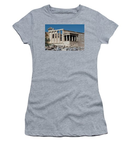 Erechtheion With The Porch Of Maidens Women's T-Shirt (Athletic Fit)