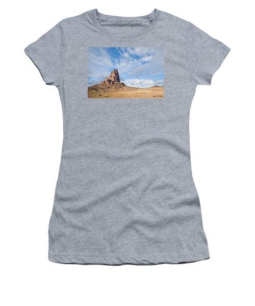 Evening Light On Agathla Peak Women's T-Shirt