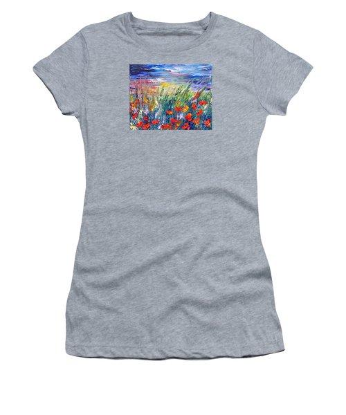 Evening Women's T-Shirt (Junior Cut) by Teresa Wegrzyn