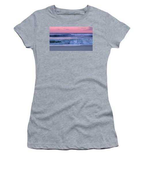 Evening Waves - Jersey Shore Women's T-Shirt