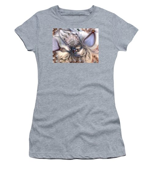 Women's T-Shirt (Junior Cut) featuring the digital art Extrinsic To Everything by Casey Kotas