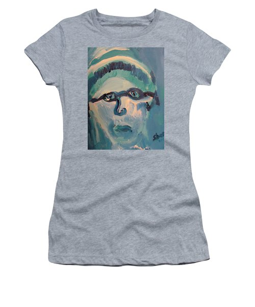 Face Three As Grandpa Snowman Women's T-Shirt