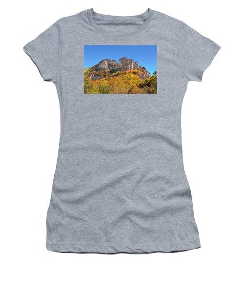Fall At Seneca Rocks Women's T-Shirt