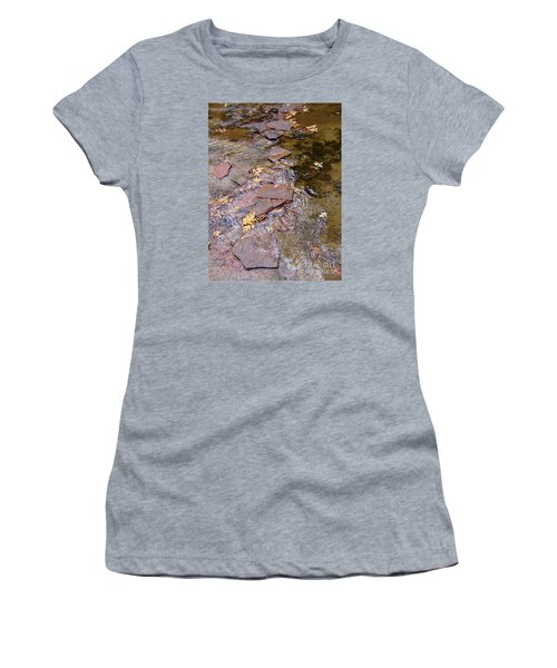 Fall Colors 6443 Women's T-Shirt (Junior Cut) by En-Chuen Soo