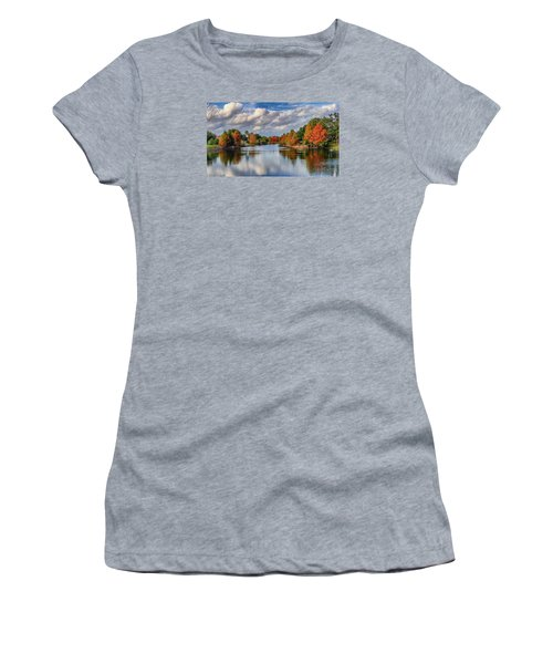 Fall In Florida Women's T-Shirt (Athletic Fit)