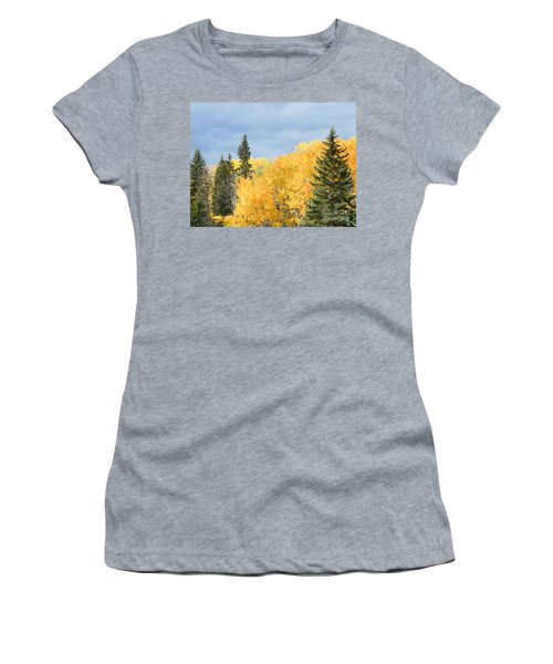 Fall Near Ya Ha Tinda Women's T-Shirt (Athletic Fit)