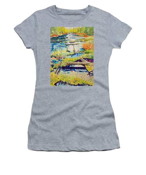 Fall River Scene Women's T-Shirt