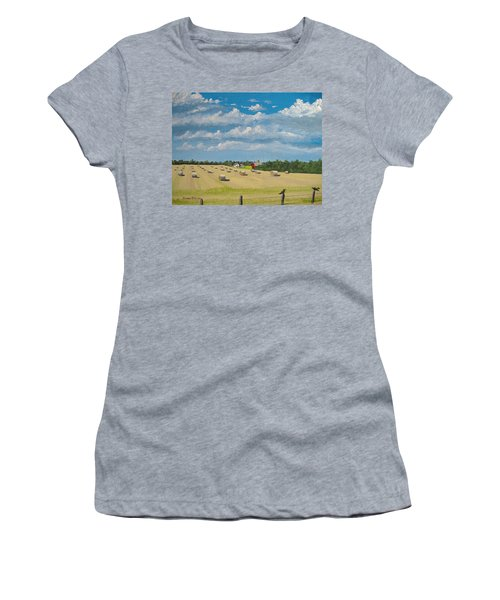 Fall Rounds Women's T-Shirt (Athletic Fit)