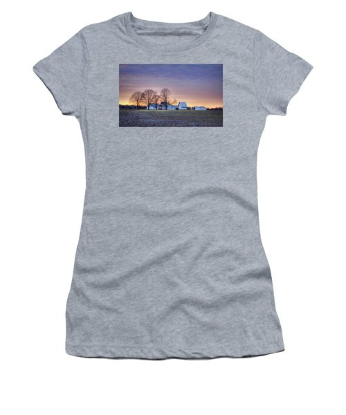 Farmstead At Sunset Women's T-Shirt