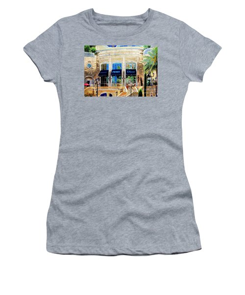 Fashion Vegas Style Women's T-Shirt (Athletic Fit)