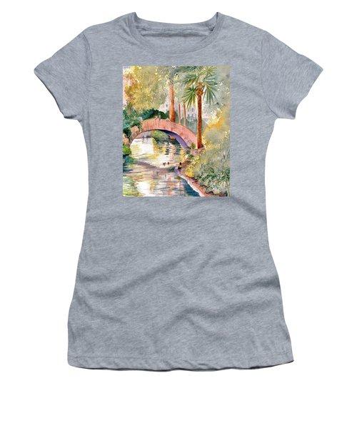 Feeding The Ducks Women's T-Shirt