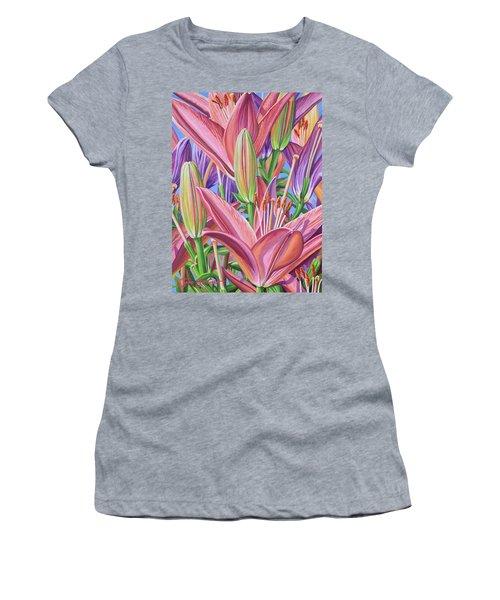 Field Of Lilies Women's T-Shirt