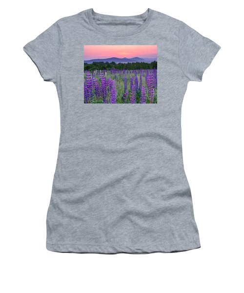 Field Of Purple Women's T-Shirt