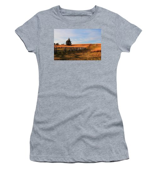 Field Of Shadows Women's T-Shirt (Athletic Fit)