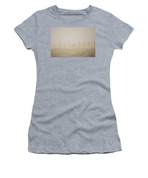 Figure In The Fog Women's T-Shirt