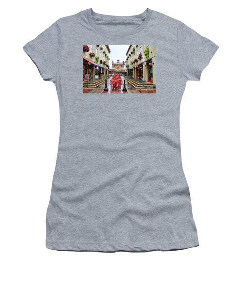 Findlay Market In Cincinnati 0003 Women's T-Shirt (Athletic Fit)
