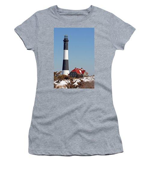 Fire Island Snow Women's T-Shirt
