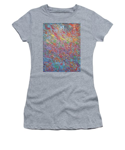 Fish To The Top Women's T-Shirt (Junior Cut) by George Riney