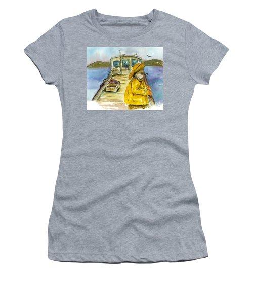 Fisherman Half Moon Bay Women's T-Shirt
