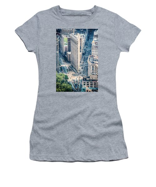 Flat Iron Building Women's T-Shirt