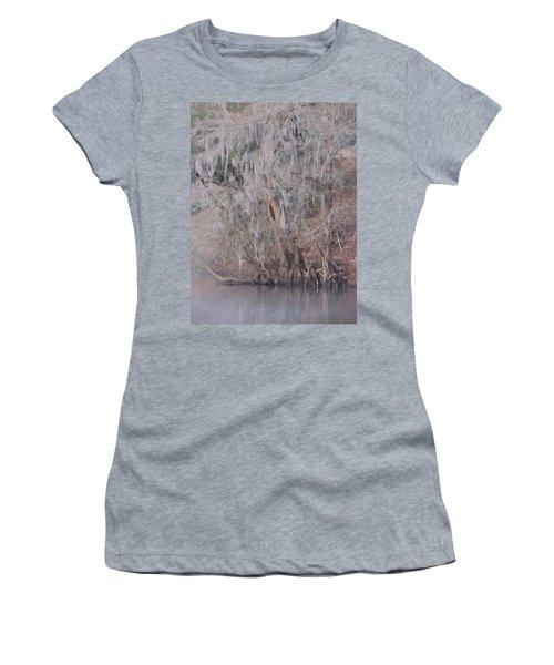Women's T-Shirt (Junior Cut) featuring the photograph Flint River 2 by Kim Pate