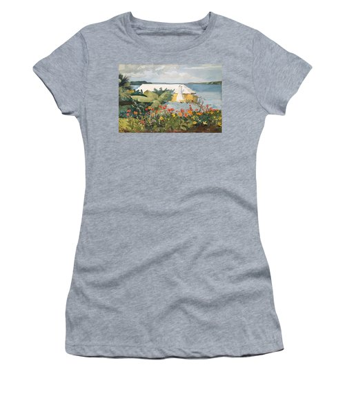 Flower Garden And Bungalow Women's T-Shirt