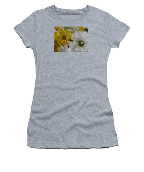 Flower Mix Women's T-Shirt (Athletic Fit)