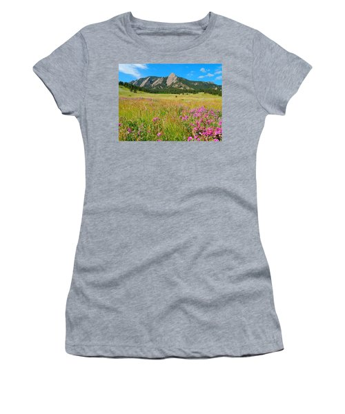 The Flatirons Colorado Women's T-Shirt