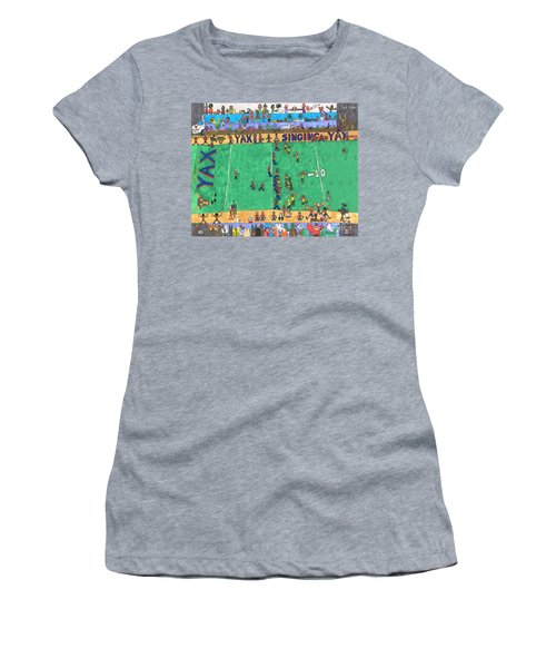 Football Women's T-Shirt (Athletic Fit)