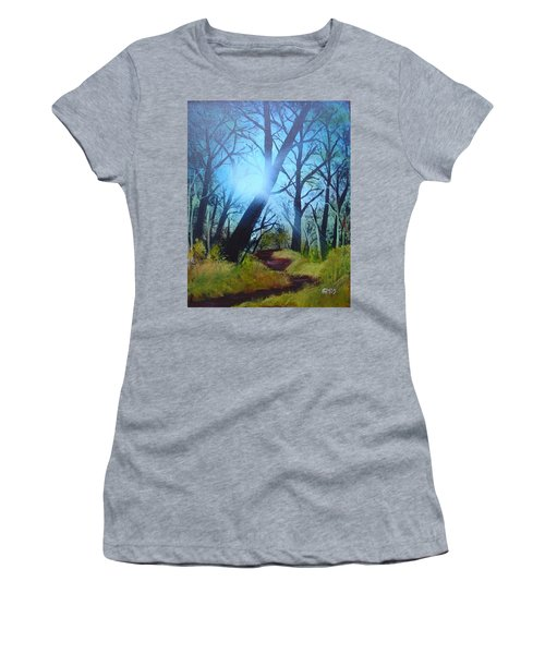 Forest Sunlight Women's T-Shirt