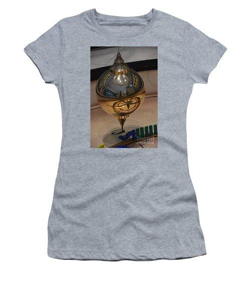 Women's T-Shirt (Junior Cut) featuring the photograph Foucalt's Pendulum by Robert Meanor