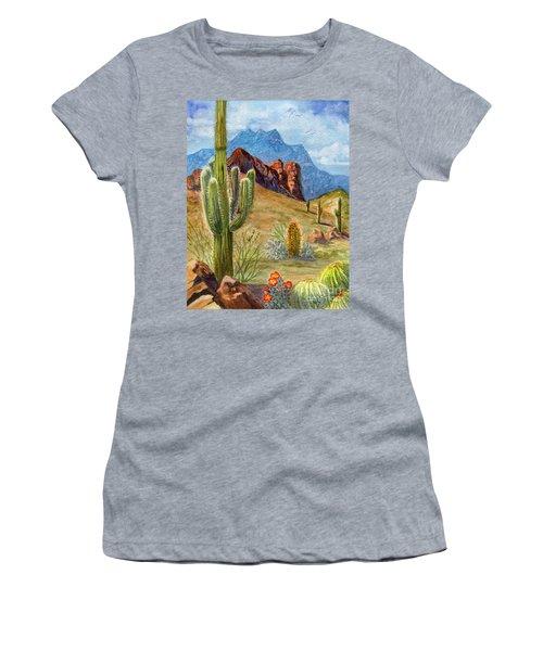 Four Peaks Vista Women's T-Shirt
