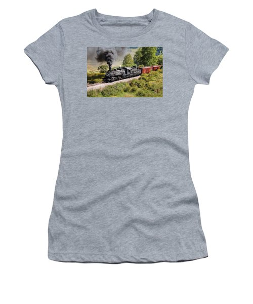 Four Percent Grade Part 1 Women's T-Shirt (Athletic Fit)
