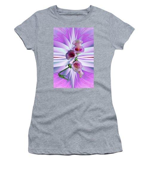 Foxglove Women's T-Shirt (Athletic Fit)
