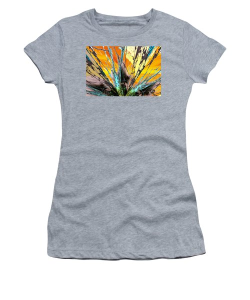 Fractured Sunset Women's T-Shirt (Athletic Fit)