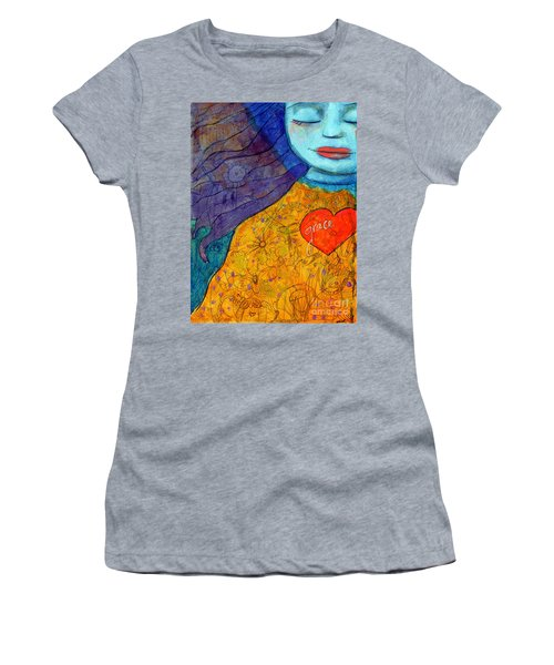 Free Your Mind And Grace Will Follow Women's T-Shirt (Athletic Fit)