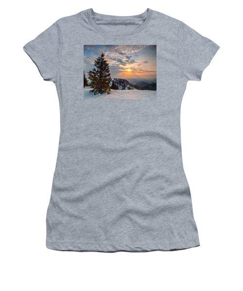 Fresh Morning Women's T-Shirt (Junior Cut) by Davorin Mance