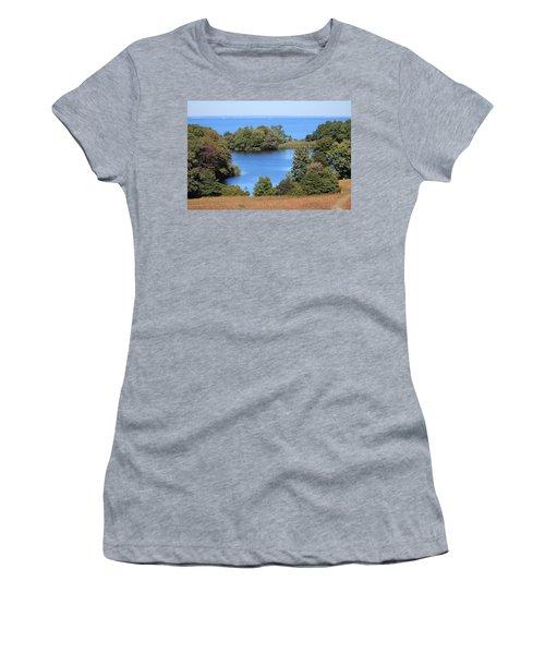 Fresh Pond At Caumsett Women's T-Shirt