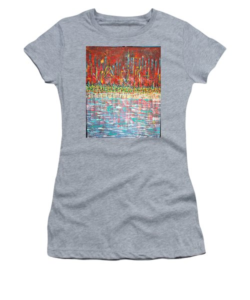 Friday At The Beach - Sold Women's T-Shirt (Junior Cut) by George Riney