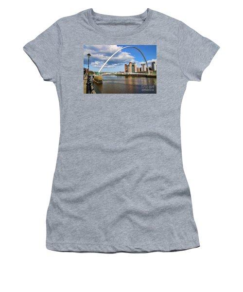Gateshead Millenium Bridge In Newcastle 6206 Women's T-Shirt